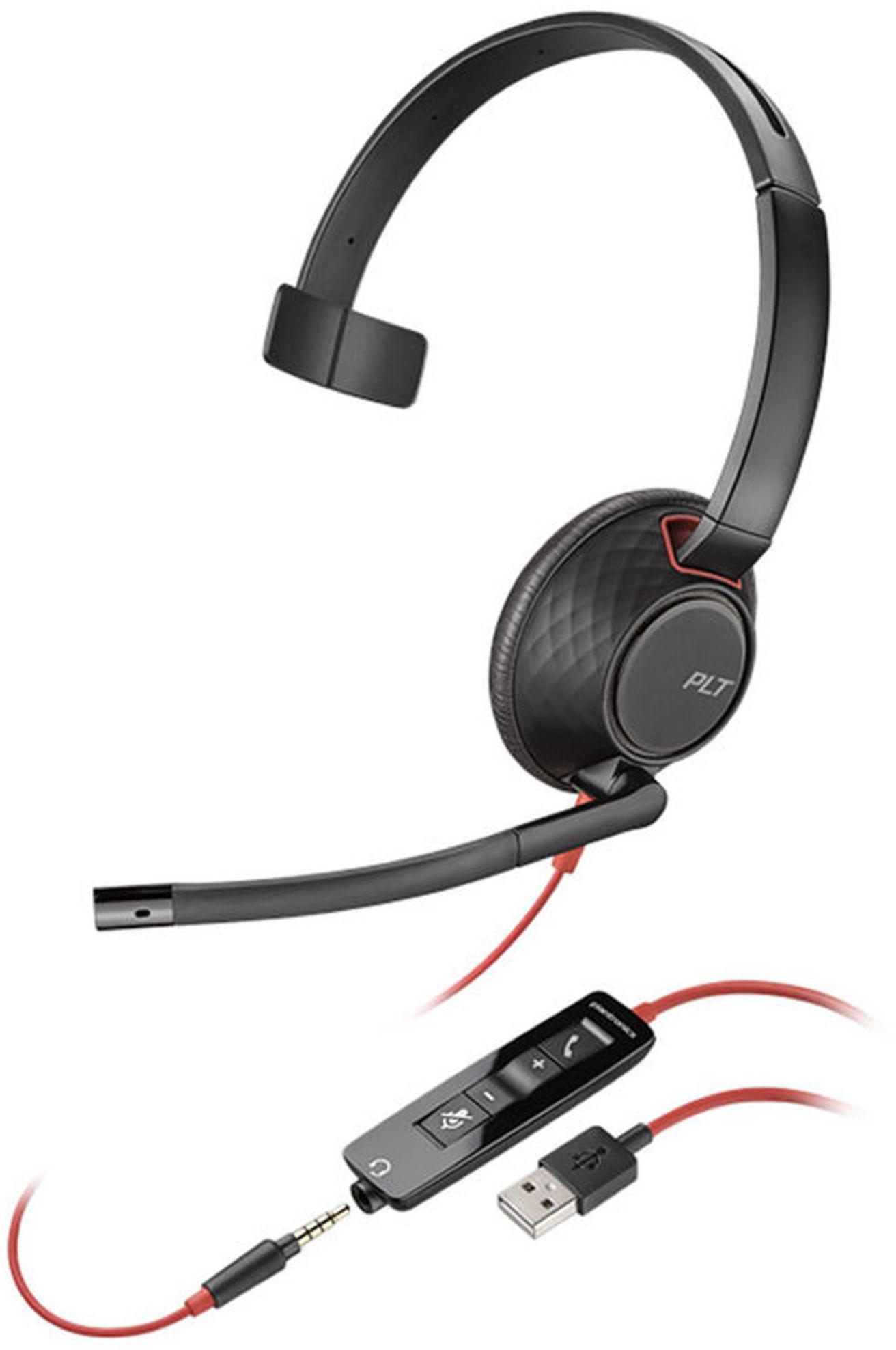 Słuchawki z mikrofonem Plantronics Blackwire 5210,C5210 (207577-01), przewodowe