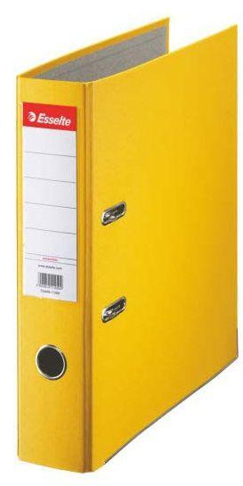 Segregator Esselte ekonomiczny A4/75 mm - żółty (10782)