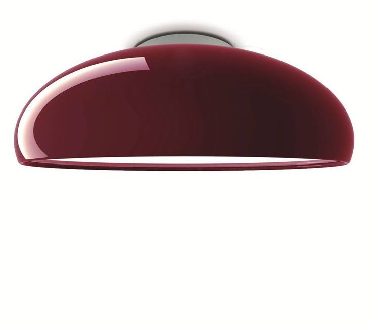 Pangen Ø60 czerwony - Fontana Arte - lampa sufitowa  GWARANCJA NAJNIŻSZEJ CENY!