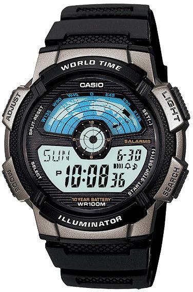 Zegarek Casio AE-1100W-1AVEF - CENA DO NEGOCJACJI - DOSTAWA DHL GRATIS, KUPUJ BEZ RYZYKA - 100 dni na zwrot, możliwość wygrawerowania dowolnego tekstu.
