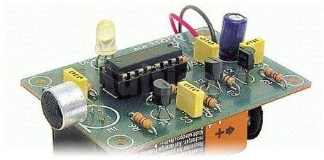 Klaskacz akustyczny zdalne sterowanie (do montażu)