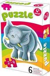 Puzzle 6 zwierzątek 18 ZAKŁADKA DO KSIĄŻEK GRATIS DO KAŻDEGO ZAMÓWIENIA