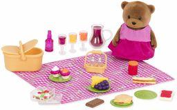 Li''l Woodzeez WZ6531Li''l Woodzeez  piknikowy 29 szt. zestaw zabawkowy ze zwierzęcymi postaciami, jedzeniem i akcesoriami  miniaturowe figurki i zestawy do zabawy dla dzieci w wieku 3+, wiele