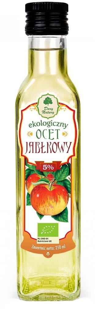 Ocet jabłkowy 5% bio 250 ml - dary natury