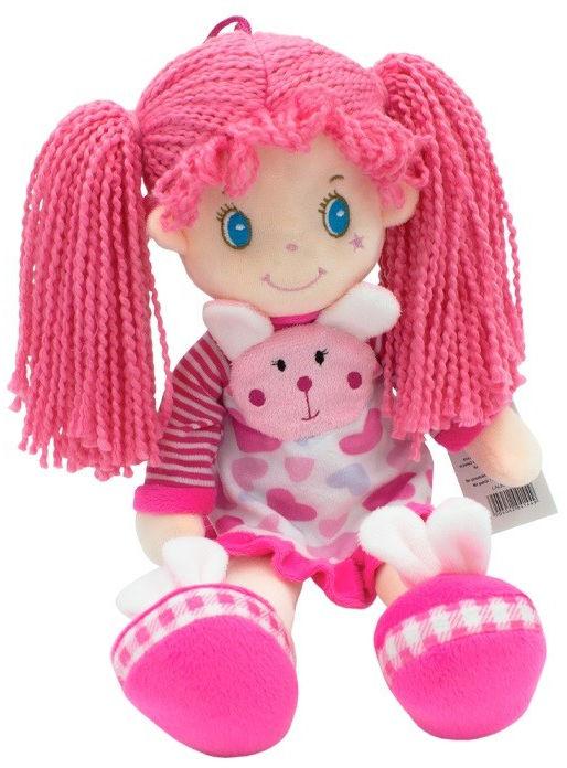 Lalka Nel w sukience z króliczkiem 36 cm