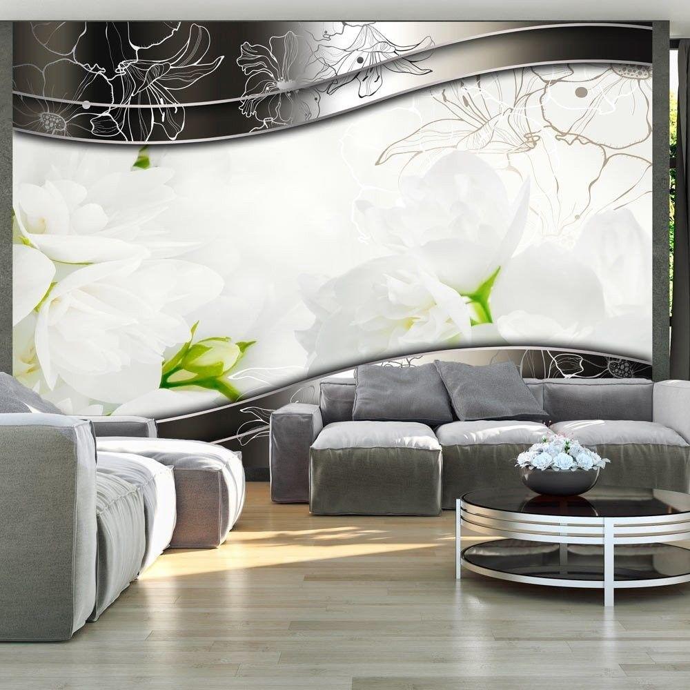 Fototapeta - kwiaty jaśminowca