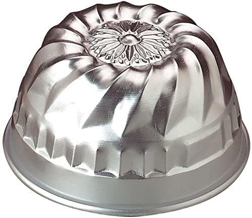 Garnki Agnelli forma do pieczenia Americano bez węża, średnica 18 cm, aluminium, srebrna