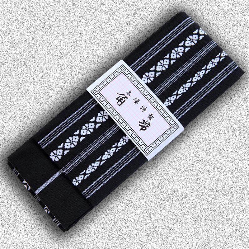 kaku obi do iaido SUPREME, czarne