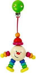 Hess 12811 drewniany klips Michel zabawka dla dzieci, wielokolorowa
