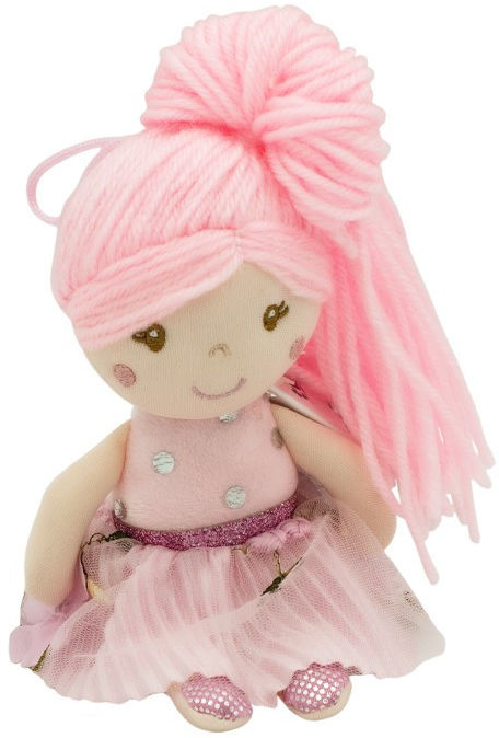Lalka Julcia różowa 20 cm