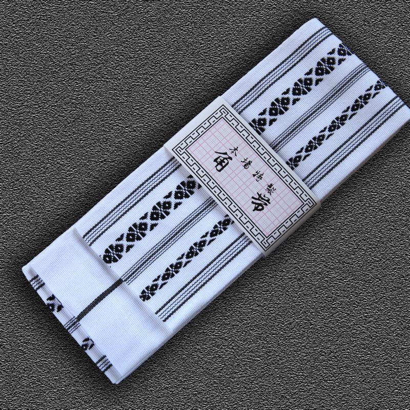 kaku obi do iaido SUPREME, białe