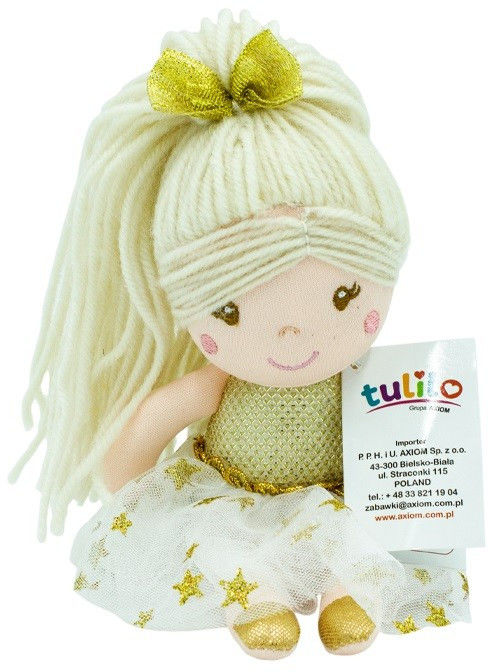 Lalka Julcia złota 20 cm