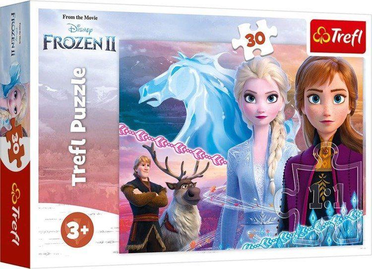 Puzzle 30 Frozen 2 Odwaga sióstr