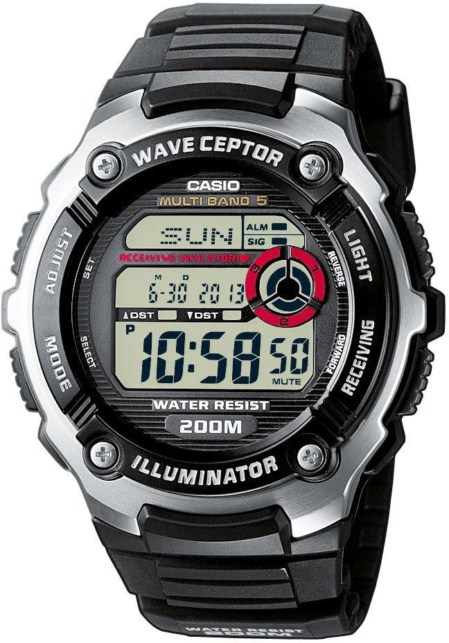 Zegarek Casio WV-200E-1AVEF Waveceptor - CENA DO NEGOCJACJI - DOSTAWA DHL GRATIS, KUPUJ BEZ RYZYKA - 100 dni na zwrot, możliwość wygrawerowania dowolnego tekstu.