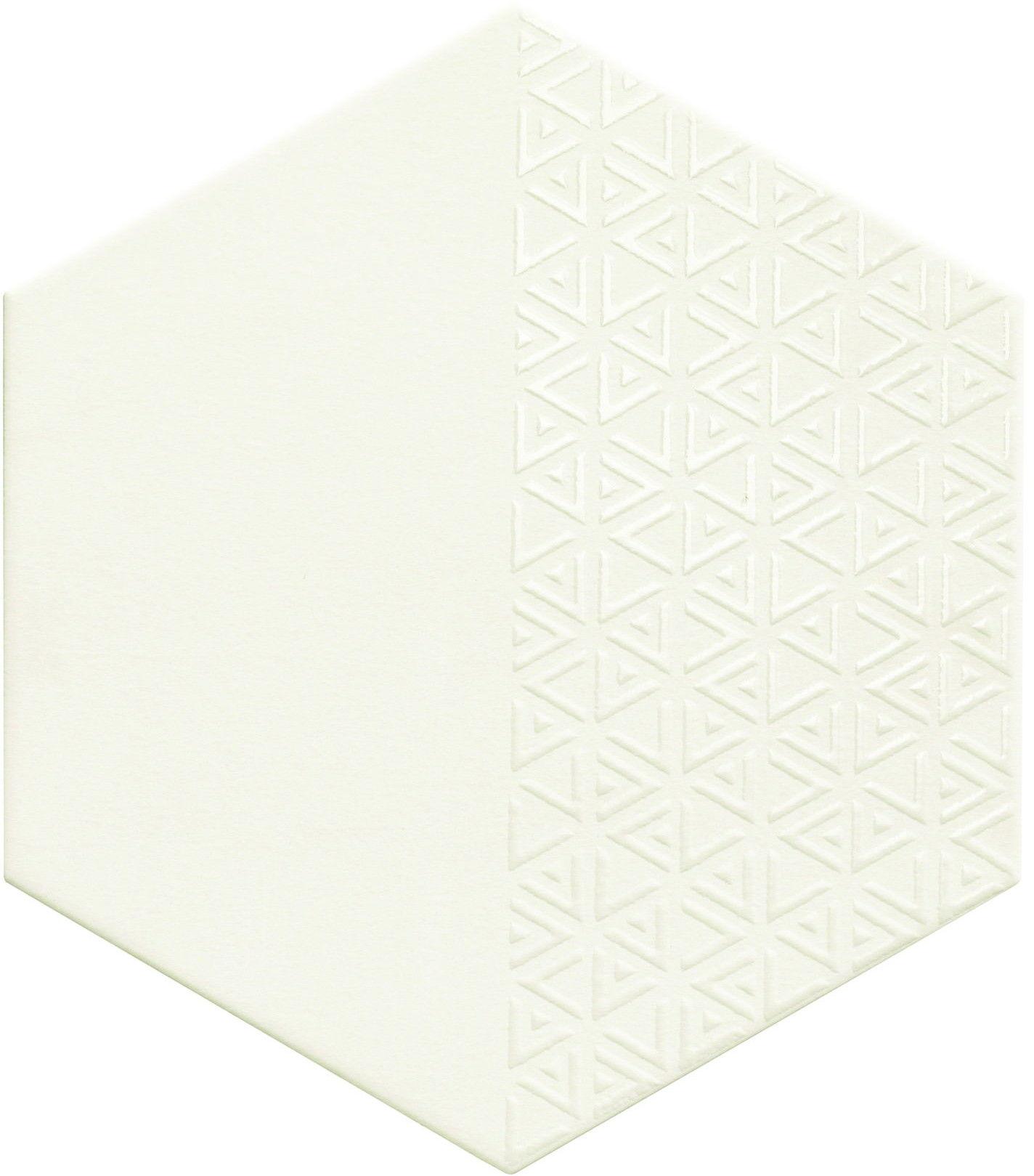 Opal Deco White 28,5x33 płytki heksagonalne