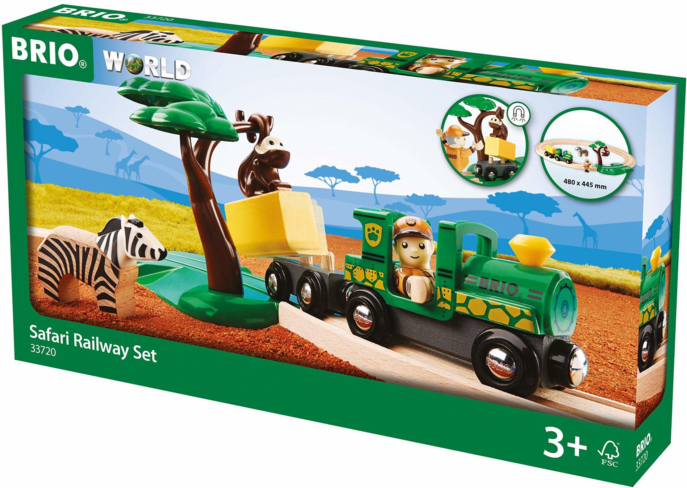 BRIO Bahn 33720 - zestaw kolejowy Safari