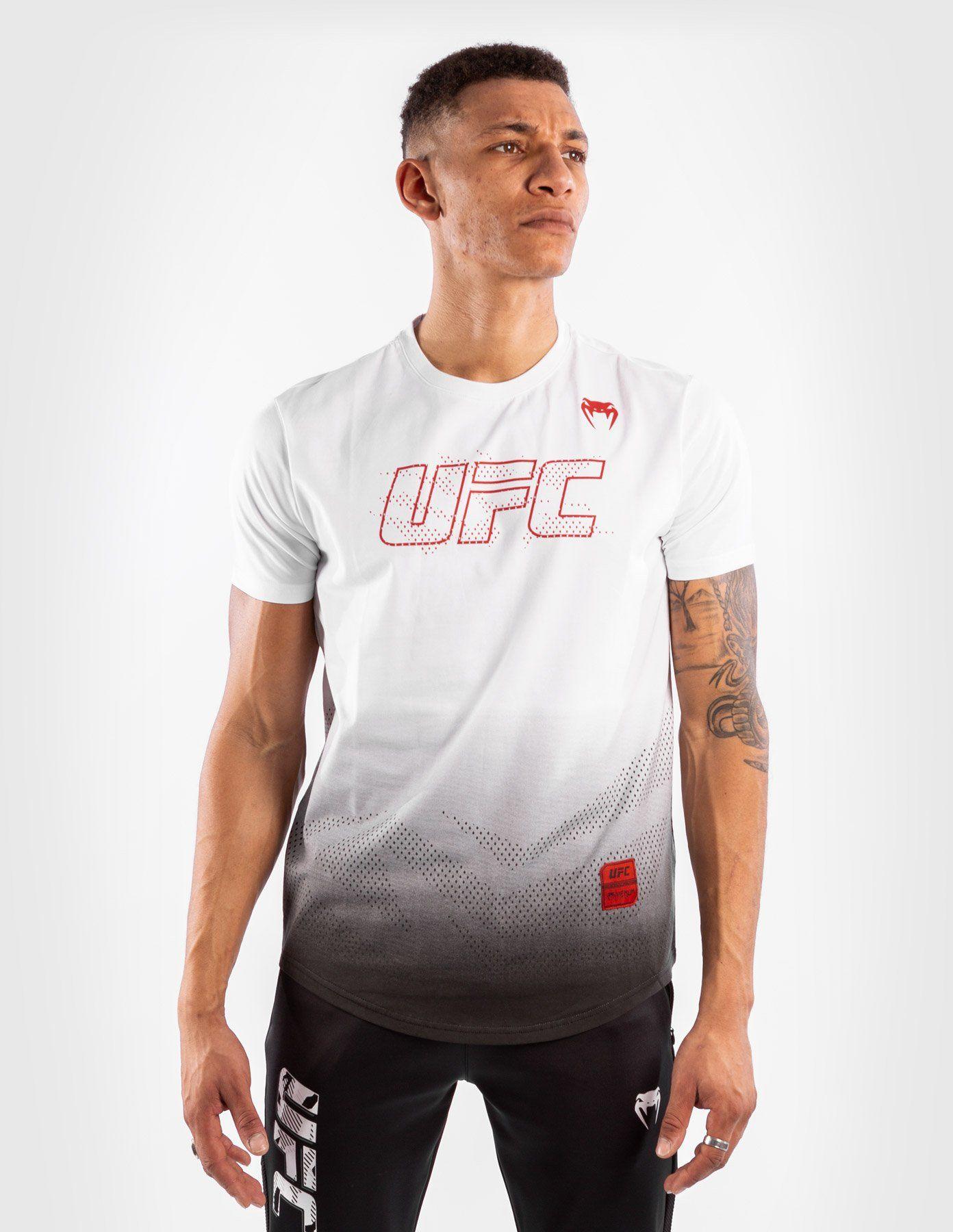 T-SHIRT KOSZULKA VENUM UFC AUTHENTIC FIGHT WEEK 2 WHITE