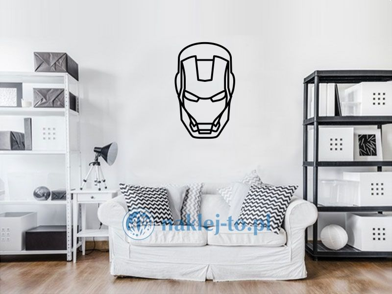 naklejka dekoracyjna Ironman naklejka na ścianę