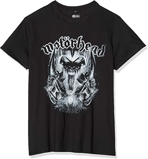 MERCHCODE Męski T-shirt Motörhead Warpig czarny czarny XS