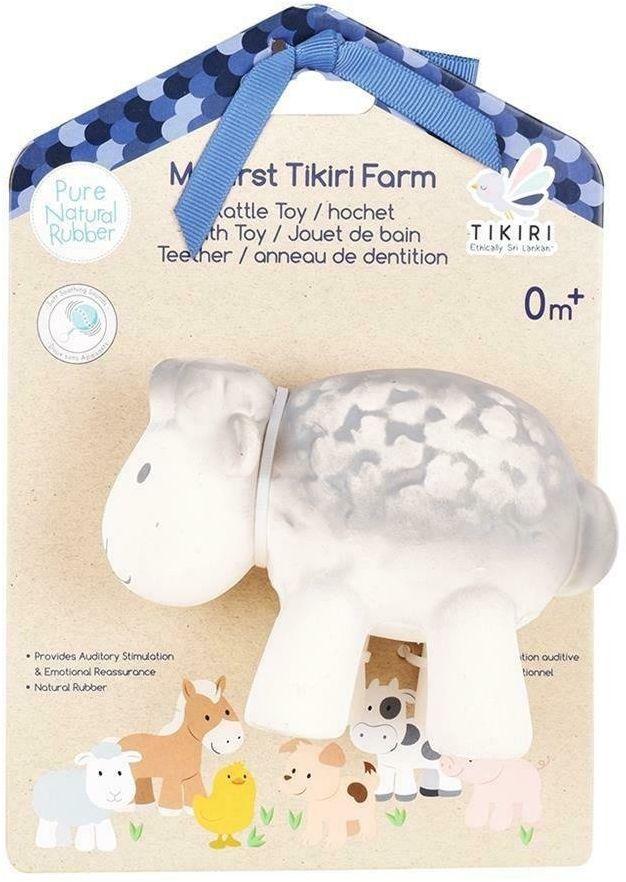 Tikiri - Gryzak zabawka Owca Farma z opakowaniem - Owca
