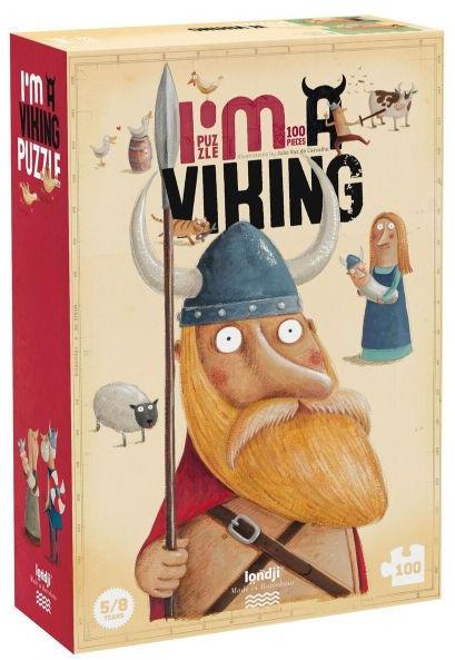 Puzzle Londji - Jestem Wikingiem!