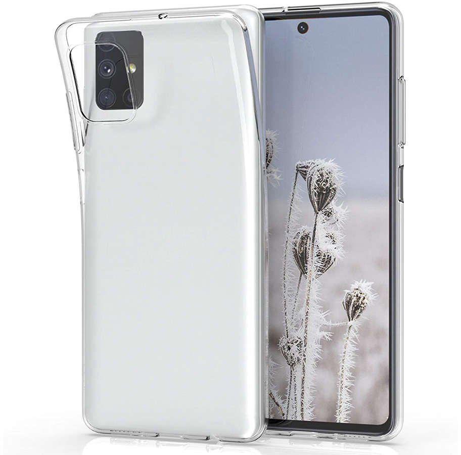 Etui obudowa case do Samsung Galaxy M51 silikonowe przezroczyste