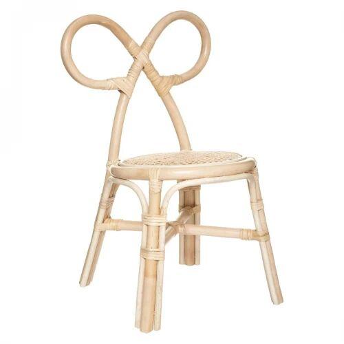 Rattanowe krzesło dla dzieci