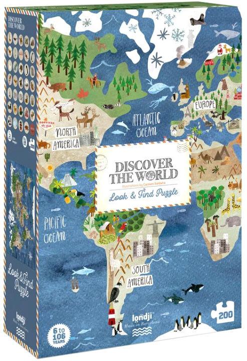 Puzzle Londji - Odkryj świat