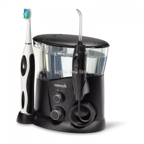 WATERPIK WP-952 EU Complete Care 7.0 BLACK zestaw irygator do zębów + szczoteczka soniczna