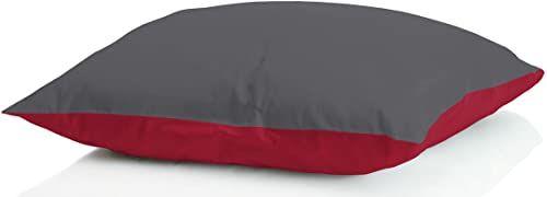 """MB HOME BASIC 2 poduszki zimowe""""Iceland"""", bordowe/ciemnoszare, 50 x 80 cm"""
