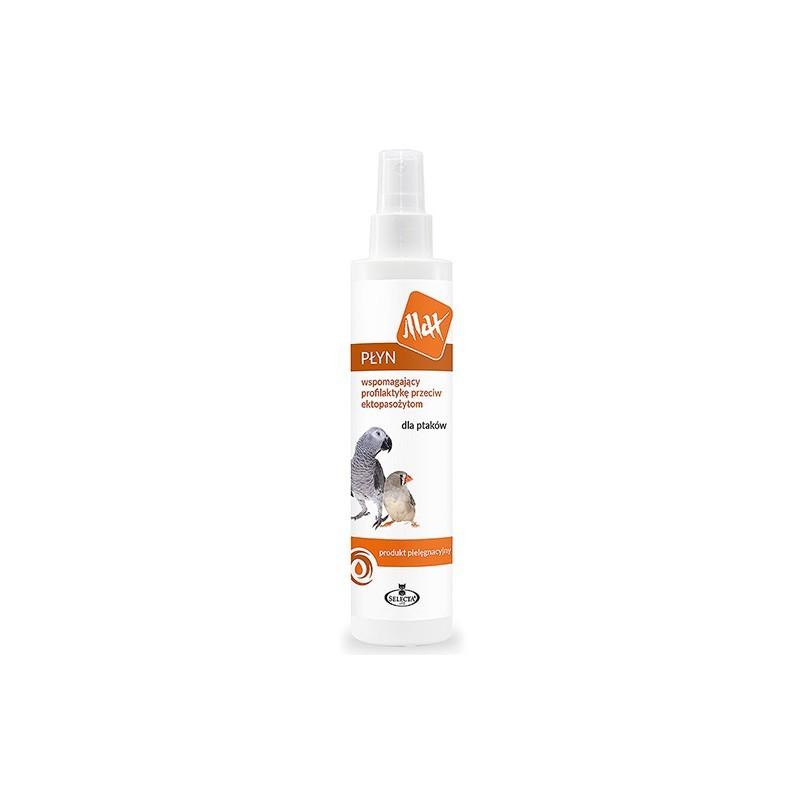 Selecta Max - płyn dla ptaków wspomagający profilaktykę p/ektopasożytom 200ml