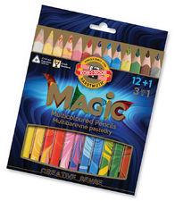Koh i noor Magic Trio Kredki 12kol + Blender