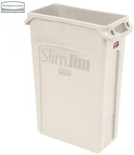 Kosz Slim Jim  With Venting 87L Beige