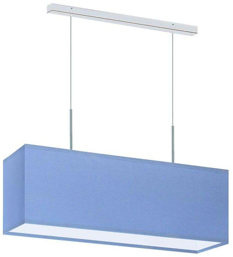 Lampa wisząca nad stół na chromowanym stelażu - EX403-Milox - 18 kolorów