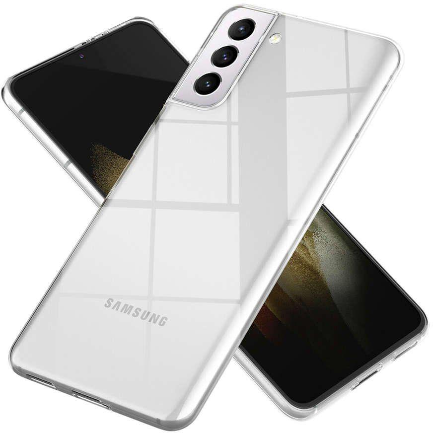 Etui obudowa case do Samsung Galaxy S21 Plus silikonowe przezroczyste