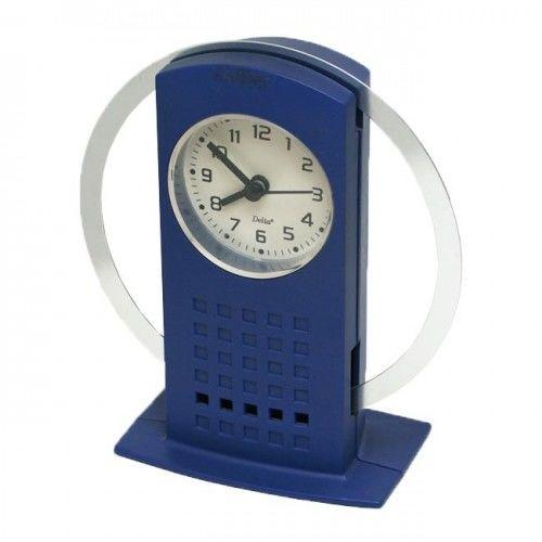 Zegar z metalową ruchomą obręczą