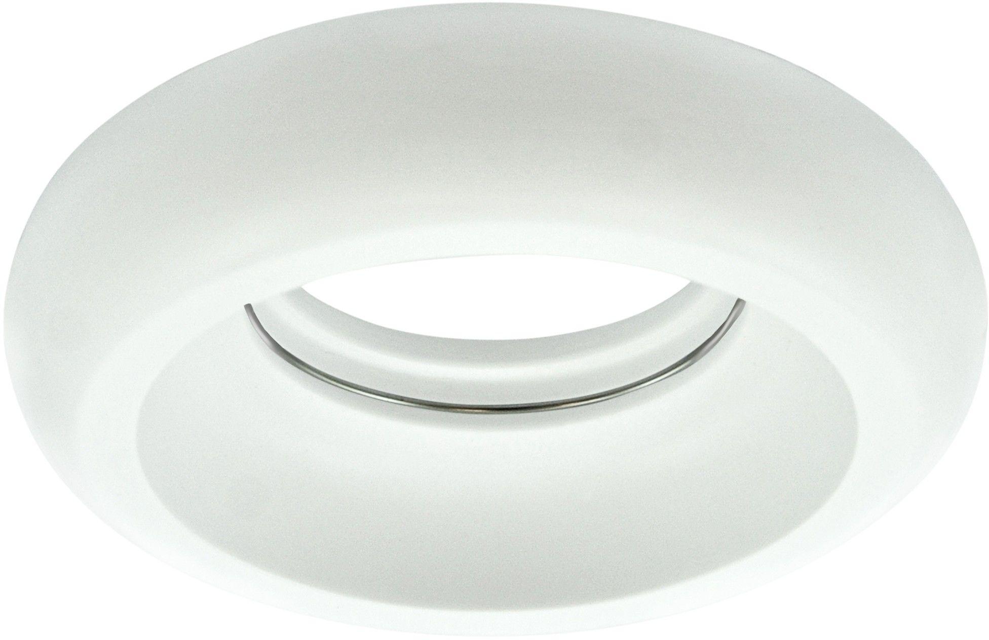 Oczko podtynkowe gipsowe 1x5W LED 12V HELIOS białe matowe 310002 POLUX/SANICO
