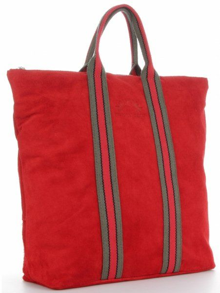 Torebki Skórzane ShopperBag renomowanej firmy VITTORIA GOTTI Czerwone (kolory)