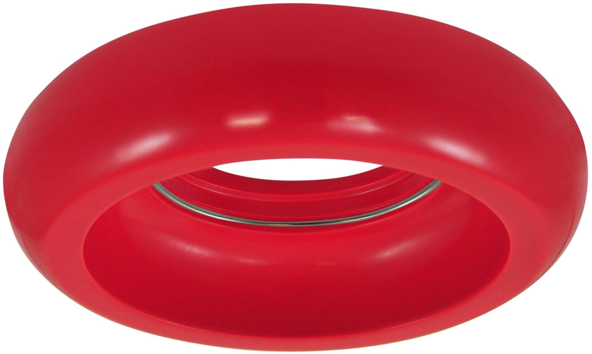 Oczko podtynkowe gipsowe 1x5W LED 12V HELIOS czerwony połysk 310019 POLUX/SANICO