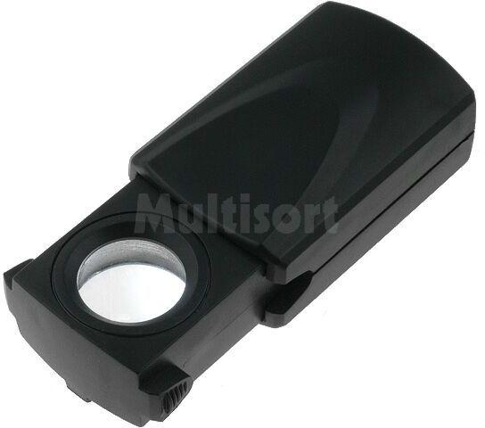 Podświetlana lupa ręczna x6 składana fi 17mm