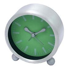 Budzik aluminiowy zielony