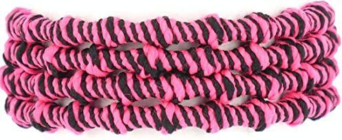 Xtenex autoblocants sznurowadła unisex dla dorosłych, neonowy różowy/czarny