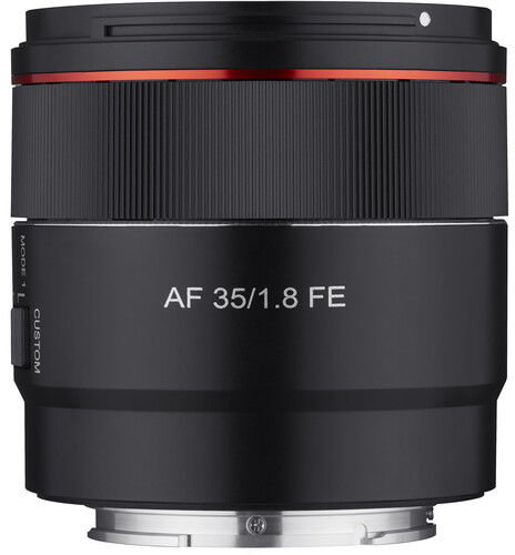 Samyang AF 35mm F/1.8 - obiektyw stałoogniskowy, Sony E AF35mm F/1.8
