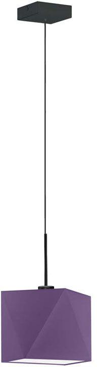 Lampa wisząca regulowana na czarnym stelażu - EX413-Salix - 18 kolorów