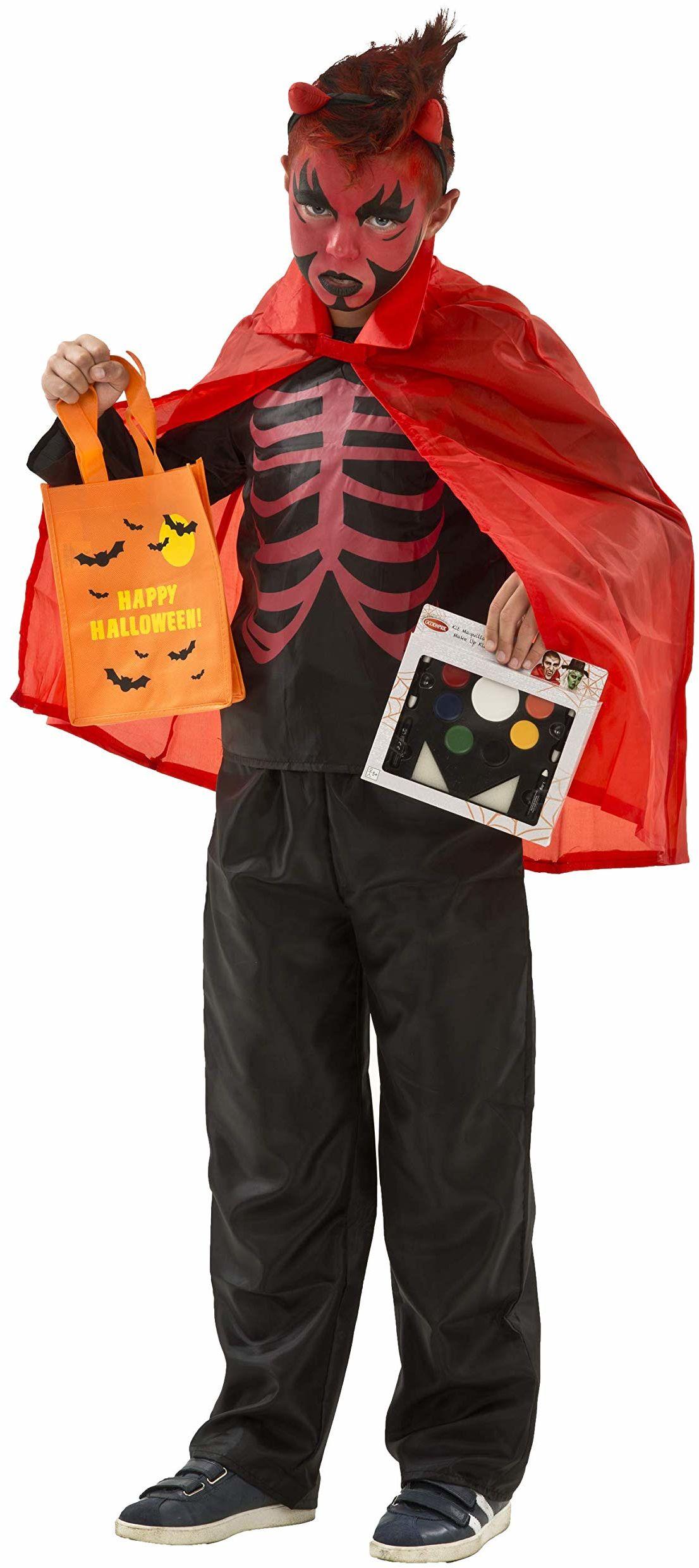 Boti diabelski zestaw kostiumowy (rozmiar 128)  chłopcy  Twój strój na Halloween