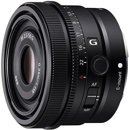 Sony SEL50F25G - obiektyw pełnoformatowy FE 50 mm F2,5 G - Obiektyw Premium G Series Prime