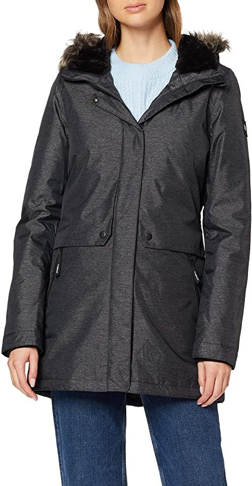 O''Neill LW JOURNEY PARKA Jackets, Black Out, L