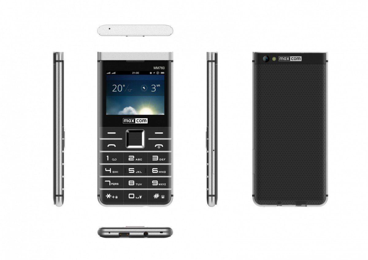 Maxcom Telefon MM 760 Dual SIM Czarny