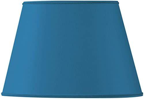Klosz lampy owalny, Ø 45 x 28/29 x 20/27 cm, jasnoniebieski