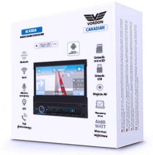 Radio samochodowe Vordon Canadian AC-8202A Darmowa dostawa